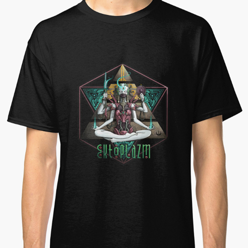 Ektoplazm t-shirt sample from Redbubble